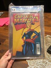 Captain Marvel #1 CGC 9.8