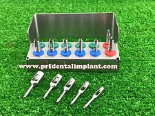 Dental Implant Tissue Punch Kit ,Trephine Drill and Guide Punch Mini Kits