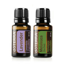 30%Off doTerra Lavender Tea Tree 15ml duo Therapeutic Essential Oil Aromatherapy