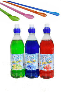 SLUSH MACHINE SYRUP SLUSHIE SYRUPS FROZEN SLUSH CHOOSE YOUR OWN FLAVOURS