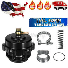 US Tial 50mm V-Band Blow Off Valve BOV Q Typer W/ Weld On Aluminum Flange 35PSI