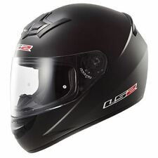 LS2 FF352 Rookie Plain Motorcycle Bike Scooter Full Face Crash Helmet Solid