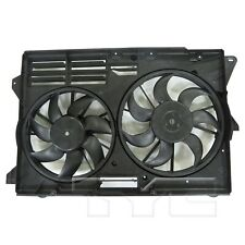 For Ford Explorer Turbo 13-17 Dual Radiator and Condenser Fan Assembly TYC