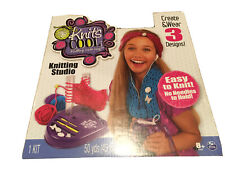 New Knits - Cool Knitting Studio - Create & Weave 3 Designs - Fun Craft For Kids
