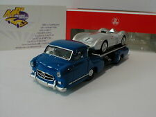 Norev 311000 - Mercedes-Benz Renntransporter / MB W196 R Stromlinie No.1 1:64