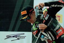 Jonathan REA SIGNED 12x8 Photo E Autograph World Superbike Champion AFTAL COA