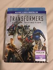 Transformers: Age of Extinction Blu-ray and DVD 2-Disc Set Includes Digital Copy
