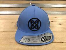 b02ae746 G/FORE Circle G's Flat Bill Snapback Golf Hat Cap Sky Blue Black (  AA181910CG