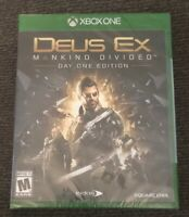 Deus Ex: Mankind Divided -- DAY ONE EDITION🎮🎧 (Microsoft Xbox One, 2016)