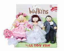 Día de boda Budkin Triple Pack por le toy van budkins Triple Pack Regalo BK911
