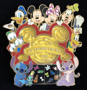 Pin 83914 HKDL Pin Trading Fun Day 2011 (Jumbo)