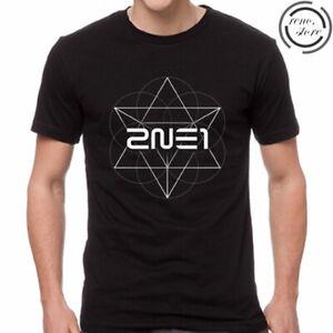 Kpop BOM Park T-shirt printemps Album T-shirt 2NE1 Tee D590