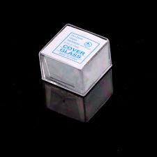 100 pcs Glass Micro Cover Slips 24x24mm - Microscope Slide Covers