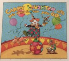 Mary Engelbreit Artwork-Carry Laughter-Handmade Magnet