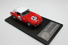 MGB LE MANS 1964, NUMBER 37, BUILT MODEL, WHITE METAL & RESIN,1:43 SCALE