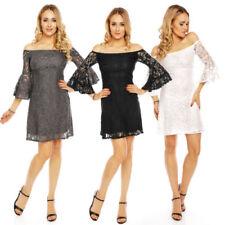 Festliche Damenkleider in Kurzgröße Größe 42