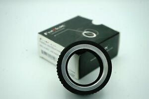 Used - Excellent - Fotodiox M42 Screw Mount to Sony E (NEX) Mount Adapter