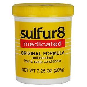 SULFUR8 MEDICATED ORIGINAL FORMULA ANTI-DANDRUFF HAIR & SCALP CONDITIONER 7.25OZ