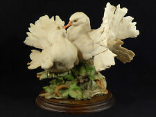 G. Armani Kissing Doves Bird Figurine - Italy