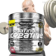 Muscle Tech Platinum 100% Creatine Powder Ultra-Pure 80 Servings 400g Unflavored