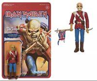 IRON MAIDEN, Soldier Eddie The Trooper ReAction figure; Bruce Dickinson
