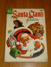 SANTA CLAUS FUNNIES #1 VG (4.0) 1952 DELL GIANT CHRISTMAS COMIC D