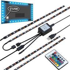 """4X15.7"""" USB Powered LED Strip Light TV Background Lighting for Flat Screen HDTV"""