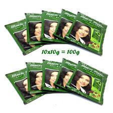 10 x 10 gm Black Rose Kali Mehndi Black Henna Hair Dye Powder Mehndi - US Seller