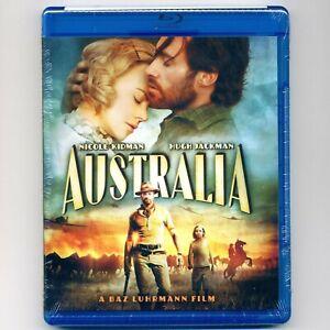 Australia 2008 PG-13 WWII romance movie, new Blu-ray Nicole Kidman, Hugh Jackman