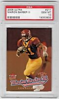 2005 Ultra #211 Marion Barber III Minnesota Golden Gophers 554/599 RC PSA 10