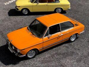 1/18Minichamps 1971 BMW 2002TI TOURING in INKA ORANGE DEALER EDITION VERY RARE