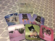 Castle Melamine Cat Coasters In case pinks 103