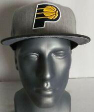 Indiana Pacers New Era 9Fifty NBA Snapback Cap Hat Acrylic Wool Heather Gray