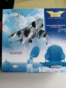 CORGI AVIATION ARCHIVE, AA32403, U.S. MARINE CORPS AV-.8A HARRIER, 1:72. NEW.