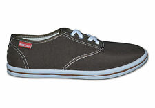 Mens Plain Canvas Shoes/Pumps,Colour Brown,Size UK 11 (EUR 45),RT3, Free Postage