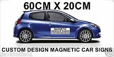 Magnetic Vehicle Signs for Vans, Cars, Trucks 60 x 20cm
