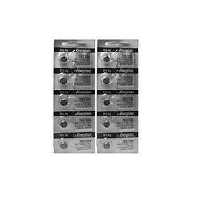 10 NEW ENERGIZER 392 384 SR41SW 192 AG3 LR41 SR41W BATTERY  SILVER OXIDE