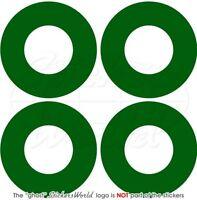 "PAKISTAN Pakistani AirForce Aircraft Roundels Vinyl Stickers, Decals 50mm(2"") x4"
