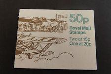 GB Folded Stamp Booklet FB55 Aircraft Series  1989 HP 42 DE HAVILLAND