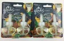 (2) Glade PlugIns Scented Oil Refill - Sultry Amber Rhythm - 2 Refills Per Pack