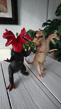 2 Headed Dragon Imperial Dor Mei Monster Kaiju rubber Dinosaur vintage Godzilla