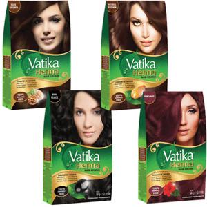 Vatika Henna Hair Color | Instant Henna Hair Dye Brown, Black, Burgundy