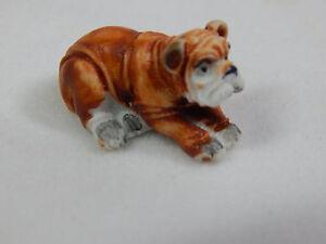 """Dollhouse Miniature 1/4"""" Scale 1:48  Bull Dog #Z238A"""