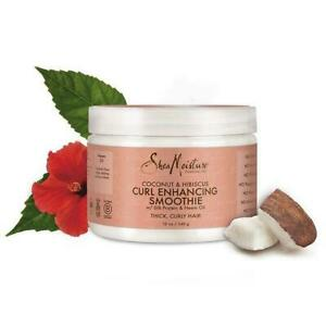Shea Moisture Coconut & Hibiscus Curl Enhancing Smoothie with Silk Protein 355ml