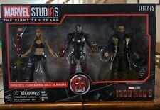 New! Marvel Studios Legends Series Iron Man 3 Action Figure 3 Pack ESAR0031
