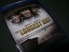 The Longest Day (Blu-ray Disc, 2009, 2-Disc Set) **LIKE NEW ***NO DIGITAL COPY