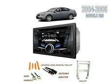 NEW for 2004-2006 NISSAN MAXIMA DOUBLE DIN CAR STEREO KIT, BLUETOOTH CD USB AUX