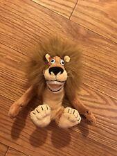 "Madagascar Plush Alex Lion 8"" Russ Berrie Dreamworks 2005 (K)"