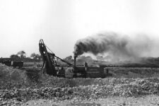 U.S. Crushed Stone Company Quarry Steam Shovel McCook IL Illinois 8x12 photo