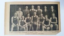 Michigan Wolverines University 1927-28 Basketball Team Picture